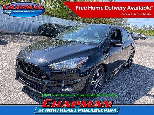 2017 Ford Focus for sale at CHAPMAN FORD NORTHEAST PHILADELPHIA in Philadelphia PA