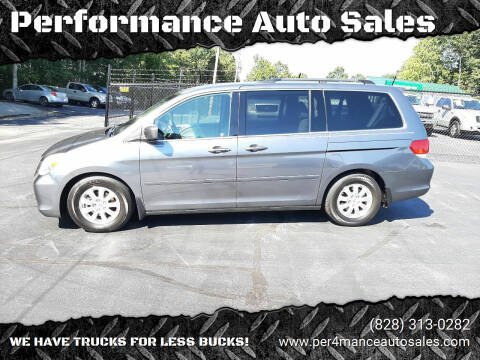 2010 Honda Odyssey for sale at Performance Auto Sales in Hickory NC