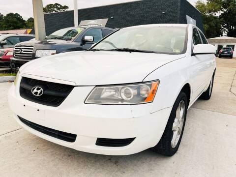2007 Hyundai Sonata for sale at Auto Space LLC in Norfolk VA