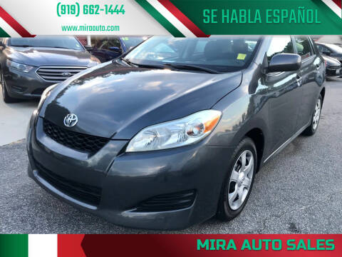 2009 Toyota Matrix for sale at Mira Auto Sales in Raleigh NC