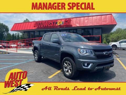 2017 Chevrolet Colorado for sale at Autowest of GR in Grand Rapids MI