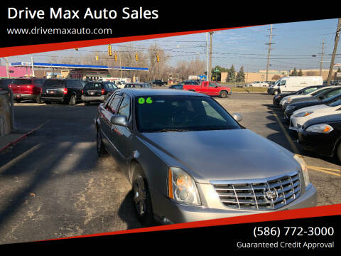 2006 Cadillac DTS for sale at Drive Max Auto Sales in Warren MI