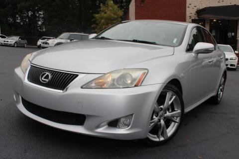 2010 Lexus IS 250 for sale at Atlanta Unique Auto Sales in Norcross GA