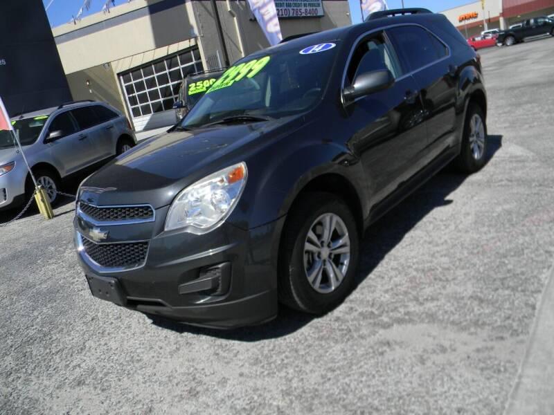 2014 Chevrolet Equinox for sale at Meridian Auto Sales in San Antonio TX