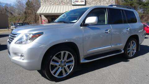 2010 Lexus LX 570 for sale at Driven Pre-Owned in Lenoir NC