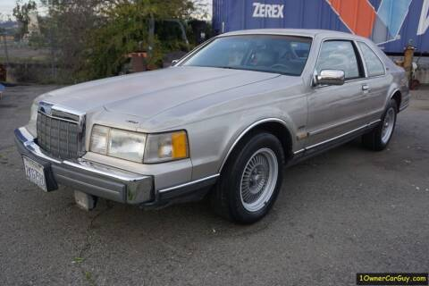1988 Lincoln Mark VII for sale at 1 Owner Car Guy in Stevensville MT