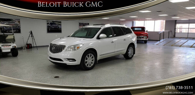 2017 Buick Enclave for sale at Beloit Buick GMC in Beloit KS