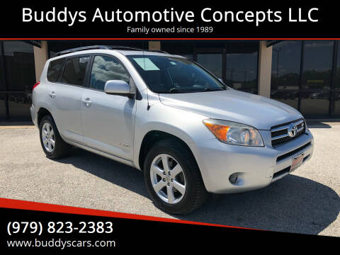 2007 Toyota RAV4 for sale at Buddys Automotive Concepts LLC in Bryan TX