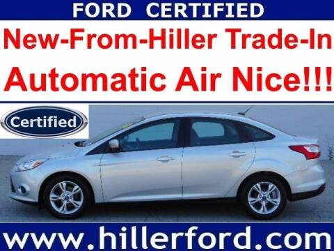 2013 Ford Focus for sale at HILLER FORD INC in Franklin WI