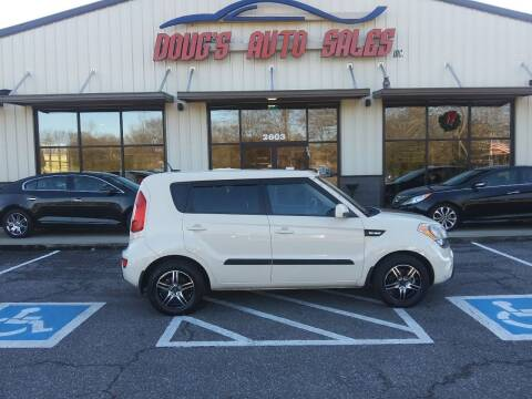 2012 Kia Soul for sale at DOUG'S AUTO SALES INC in Pleasant View TN