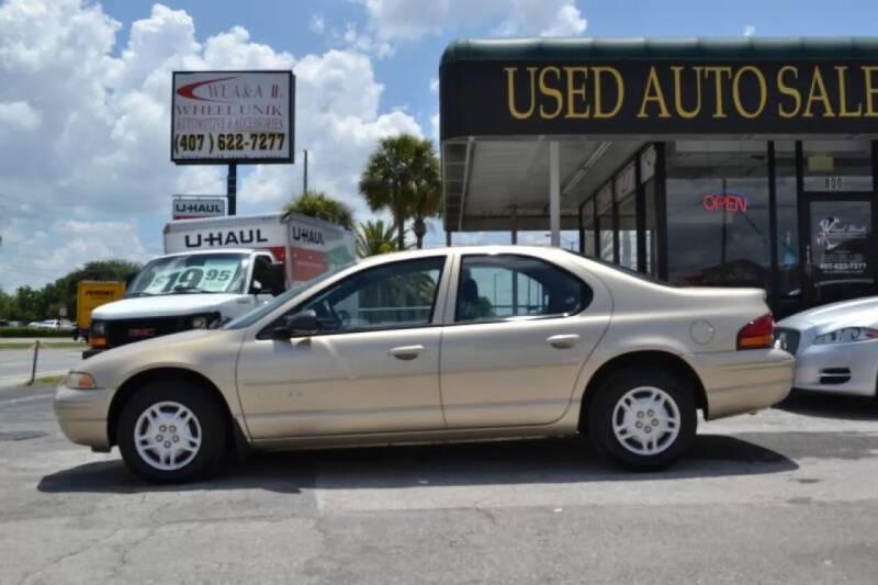 1999 Dodge Stratus for sale at WHEEL UNIK AUTOMOTIVE & ACCESSORIES INC in Orlando FL