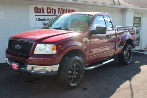 2004 Ford F-150 for sale at Oak City Motors in Garner NC