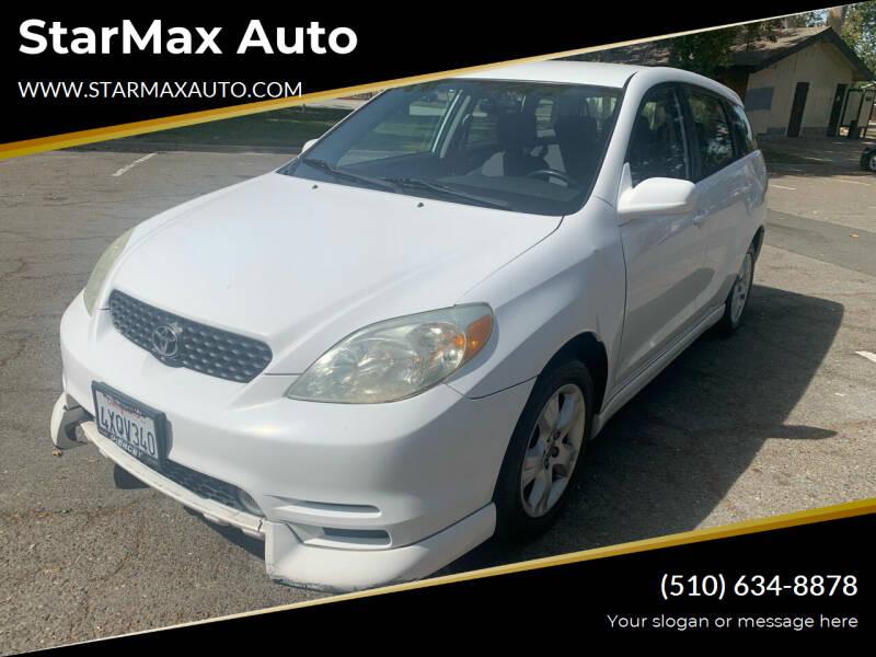 2003 Toyota Matrix for sale at StarMax Auto in Fremont CA