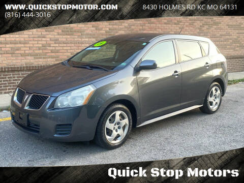 2009 Pontiac Vibe for sale at Quick Stop Motors in Kansas City MO