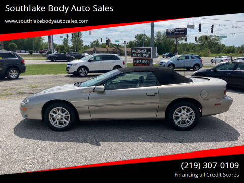 2001 Chevrolet Camaro for sale at Southlake Body Auto Sales in Merrillville IN