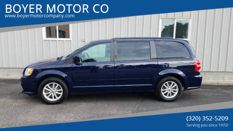 2013 Dodge Grand Caravan for sale at BOYER MOTOR CO in Sauk Centre MN