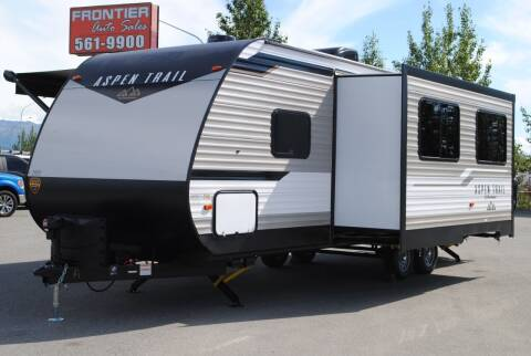 2021 ASPEN TRAIL 26BH for sale at Frontier RV Sales in Anchorage AK