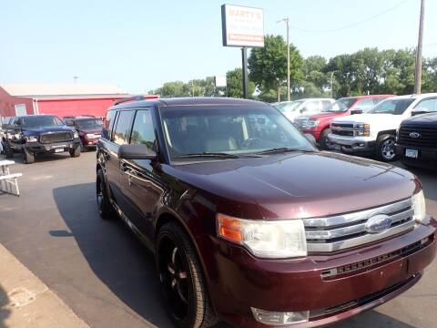 2011 Ford Flex for sale at Marty's Auto Sales in Savage MN