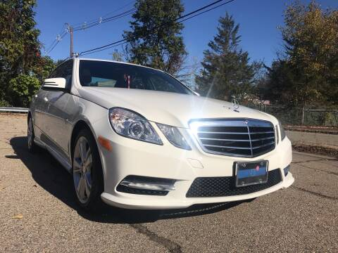 2012 Mercedes-Benz E-Class for sale at A & B Motors in Wayne NJ
