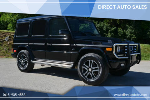 2013 Mercedes-Benz G-Class for sale at Direct Auto Sales in Franklin TN