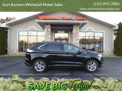 2017 Ford Edge for sale at Kurt Bonners Whitehall Motor Sales in Whitehall MI