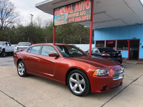 2013 Dodge Charger for sale at Global Auto Sales and Service in Nashville TN