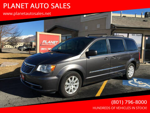 2016 Chrysler Town and Country for sale at PLANET AUTO SALES in Lindon UT