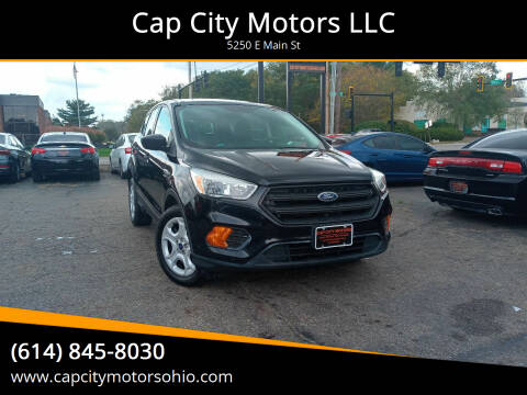 2017 Ford Escape for sale at Cap City Motors LLC in Columbus OH