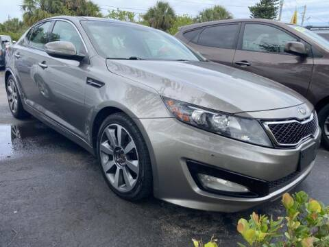2013 Kia Optima for sale at Mike Auto Sales in West Palm Beach FL