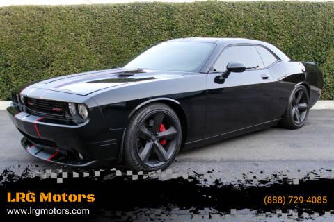 2010 Dodge Challenger for sale at LRG Motors in Montclair CA