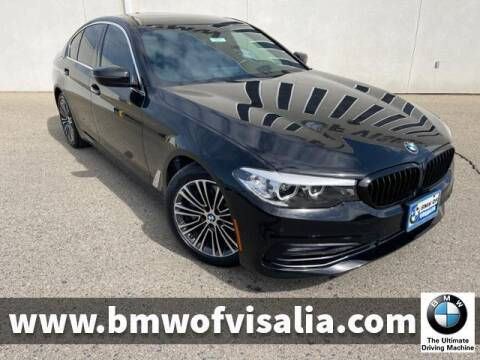 2017 BMW 5 Series for sale at BMW OF VISALIA in Visalia CA