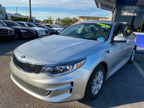 2018 Kia Optima for sale at Cow Boys Auto Sales LLC in Garland TX