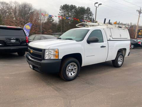 2012 Chevrolet Silverado 1500 for sale at Affordable Auto Sales in Webster WI