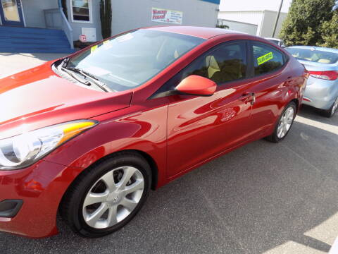2011 Hyundai Elantra for sale at Pro-Motion Motor Co in Lincolnton NC