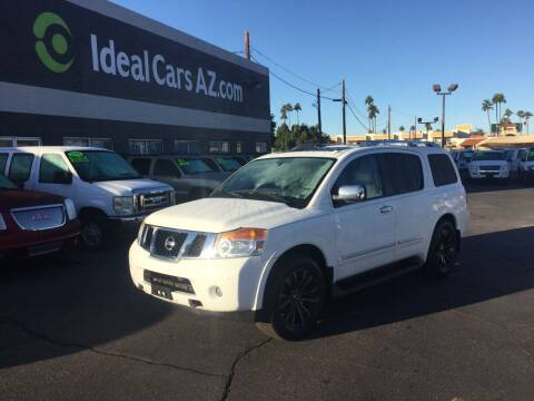 2011 Nissan Armada for sale at Ideal Cars in Mesa AZ