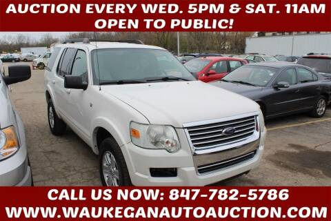 2008 Ford Explorer for sale at Waukegan Auto Auction in Waukegan IL