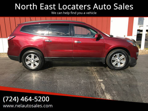 2015 Chevrolet Traverse for sale at North East Locaters Auto Sales in Indiana PA
