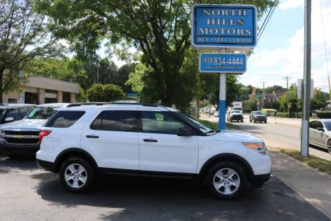 2014 Ford Explorer for sale at North Hills Motors in Raleigh NC