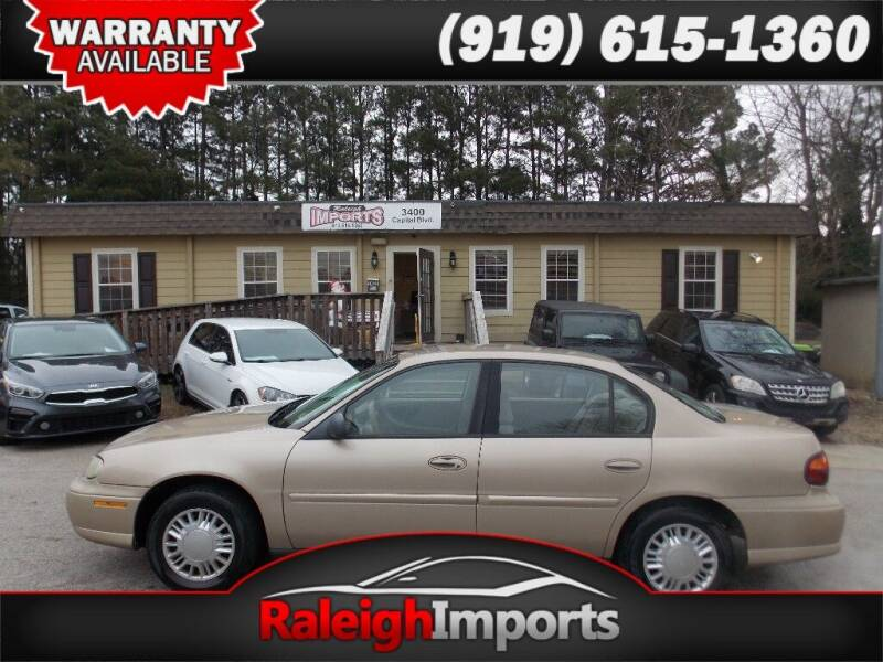 2001 Chevrolet Malibu for sale at Raleigh Imports in Raleigh NC