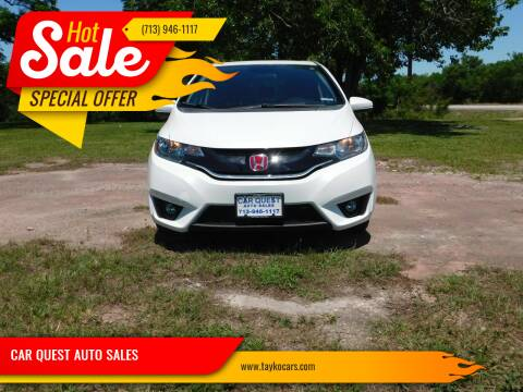 2015 Honda Fit for sale at CAR QUEST AUTO SALES in Houston TX