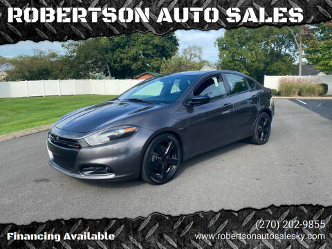 2015 Dodge Dart for sale at ROBERTSON AUTO SALES in Bowling Green KY
