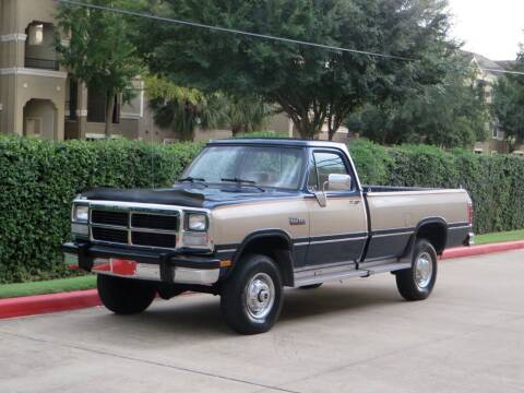 1992 Dodge RAM 250 for sale at RBP Automotive Inc. in Houston TX