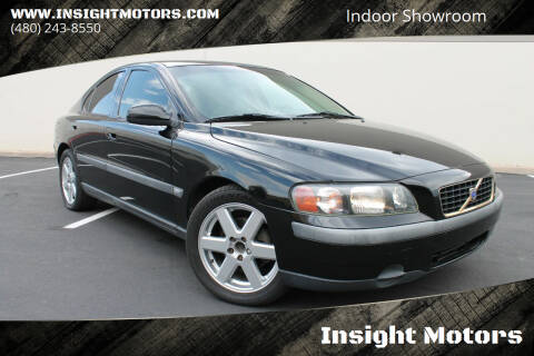 2002 Volvo S60 for sale at Insight Motors in Tempe AZ