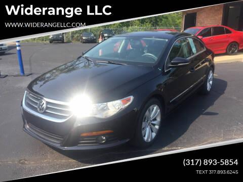 2009 Volkswagen CC for sale at Widerange LLC in Greenwood IN