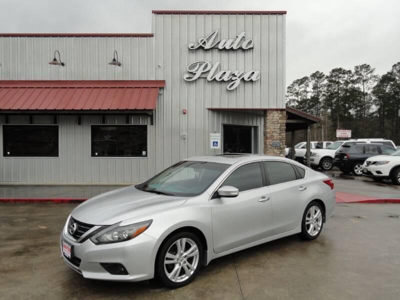 2016 Nissan Altima for sale at Grantz Auto Plaza LLC in Lumberton TX