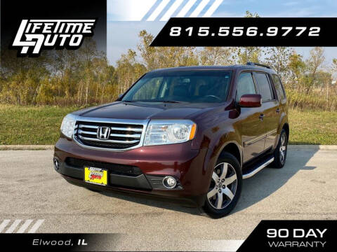 2013 Honda Pilot for sale at Lifetime Auto in Elwood IL