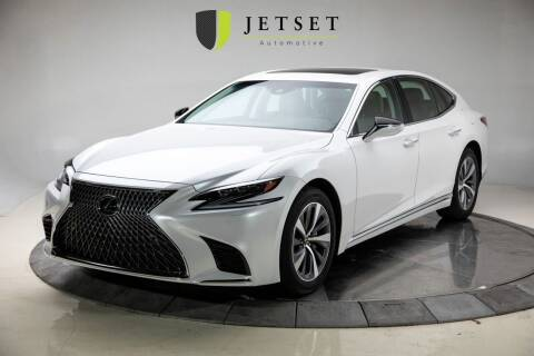 2018 Lexus LS 500 for sale at Jetset Automotive in Cedar Rapids IA