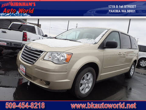 2010 Chrysler Town and Country for sale at Bruce Kirkham Auto World in Yakima WA