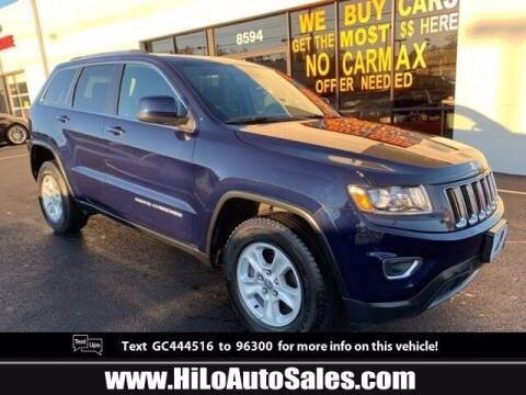 2016 Jeep Grand Cherokee for sale at Hi-Lo Auto Sales in Frederick MD