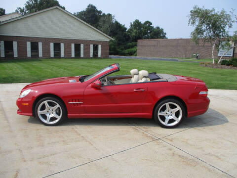 2009 Mercedes-Benz SL-Class for sale at Lease Car Sales 2 in Warrensville Heights OH
